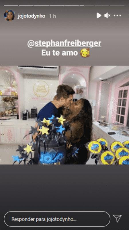 Jojo Toddynho beijou o marido de seu empresário - Reprodução/Instagram - Reprodução/Instagram