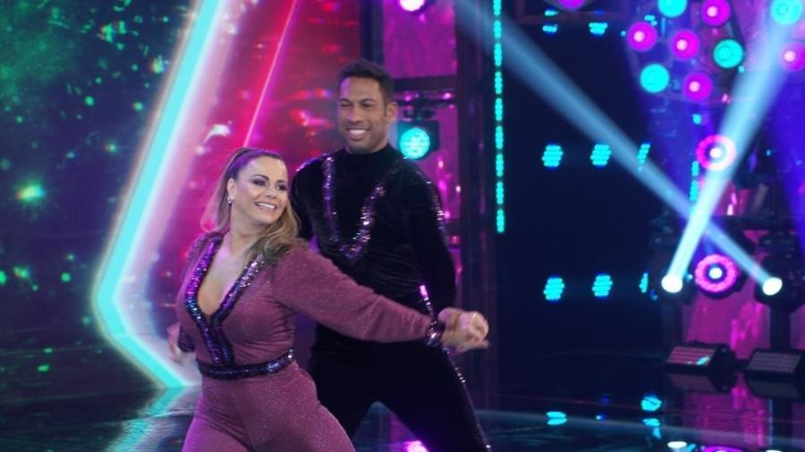 """Viviane Araújo e Juliana Didone estão na final da """"Super Dança dos Famosos"""" - Reprodução/Globoplay"""