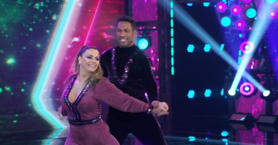Viviane Araújo e Juliana Didone estão na final da 'Super Dança dos Famosos'
