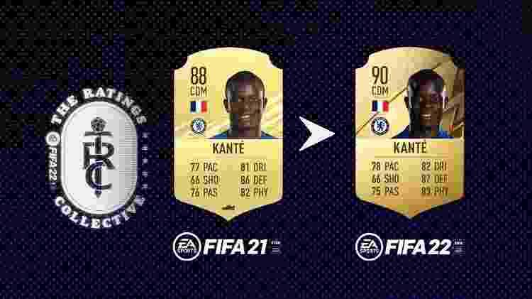 Kante - Divulgação/EA Sports - Divulgação/EA Sports