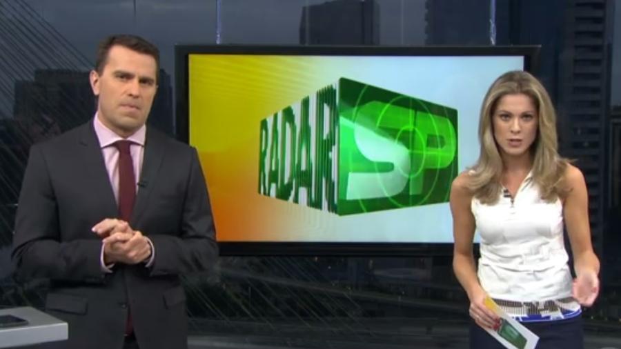 Jornalista Rodrigo Bocardi, da Globo - Reprodução /TV Globo