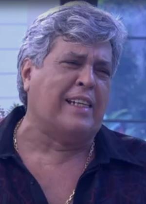 Sidney Magal diz para Ana Maria Braga que resolveu assumir os cabelos grisalhos - Reprodução/Globo