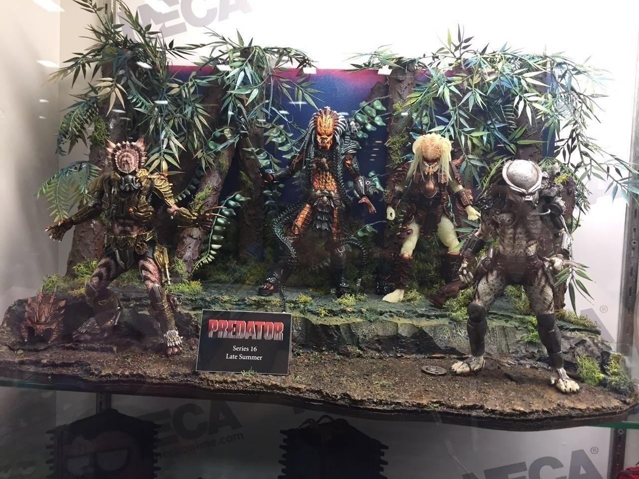 Predadores de todos os tipos e gostos exibidos na Comic-Con 2016