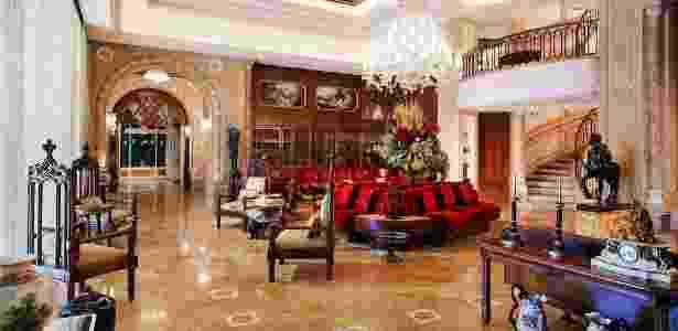 Com sete andares, a acomodação do Grand Hills Hotel & Spa tem 4.131 m² - Divulgação/Grand Hills Hotel & Spa