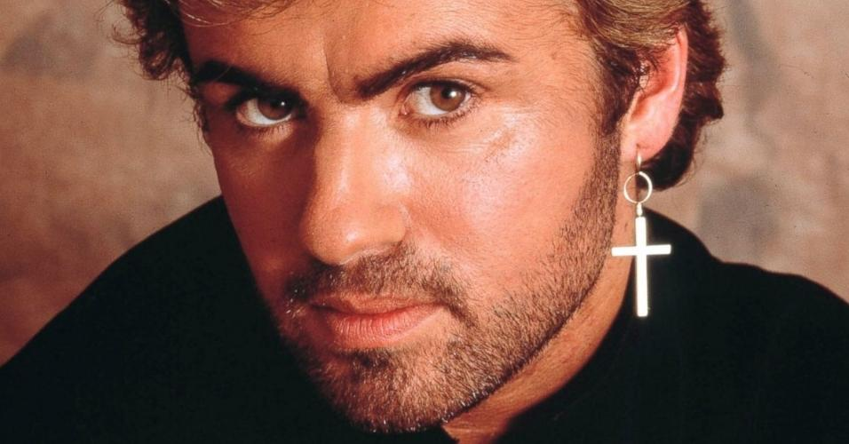 George Michael durante os anos 80