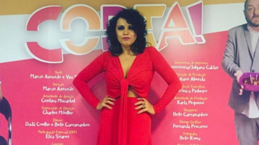 """Dadá Coelho estava em cartaz com a peça """"Corta!"""" no teatro Clara Nunes - Reprodução/Instagram"""