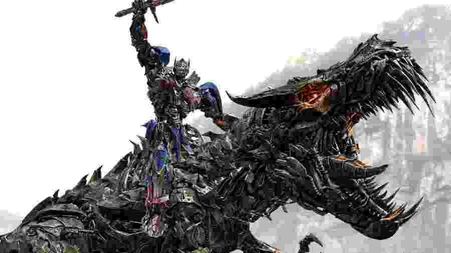 Cena do filme Transformers: A Era da Extinção - Divulgação