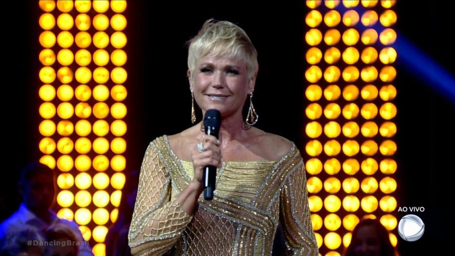 "Xuxa apresenta o ""Dancing Brasil"", na Record TV - Reprodução/TV Record"