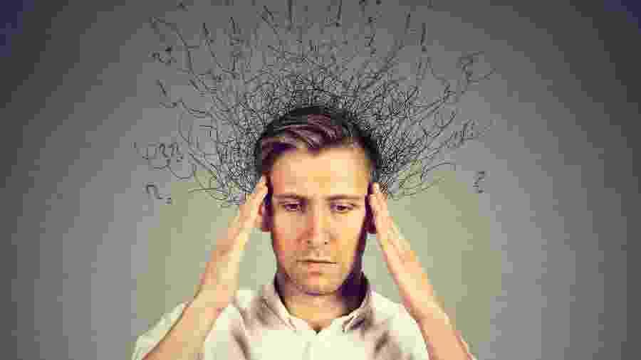 Transtorno de ansiedade se caracteriza por pensamentos invasivos, recorrentes e persistentes  - iStock