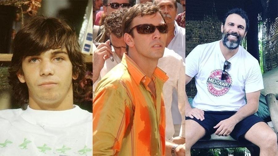 """Marcelo Faria fez seu primeiro papel em """"Top Model"""", aos 18 anos. Em """"Celebridade"""", aos 32, interpretou o bombeiro Vladimir. Neste ano, aos 46, participa da série """"Cidade Proibida"""""""