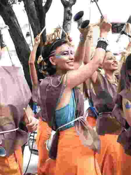 Bloco FrancisKryshna durante seu desfile de Carnaval em São Paulo -  Caroline Riley/Divulgação