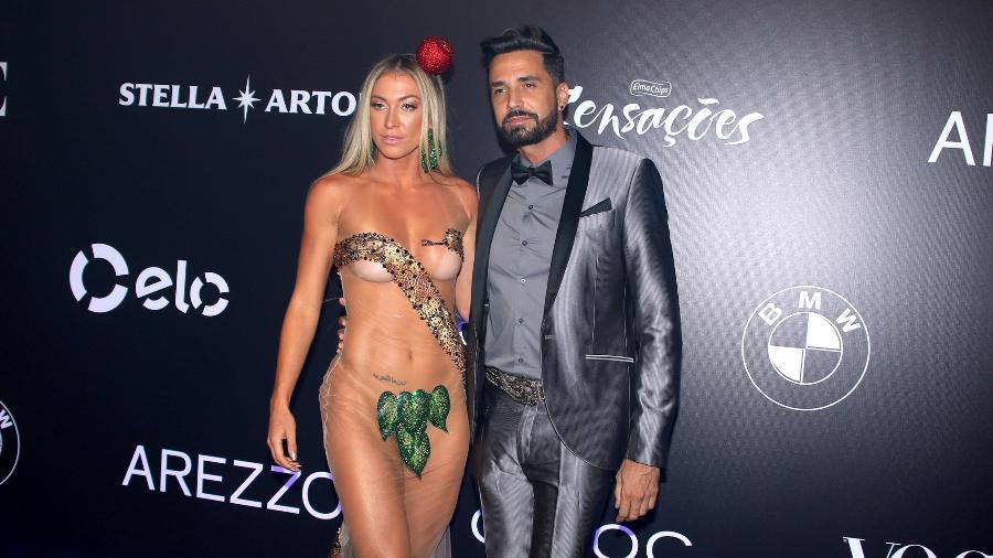 Jéssica Rodrigues, noiva do cantor Latino no Baile da Vogue - Thiago Duran, Francisco Cepeda e Deividi Correa/AgNews
