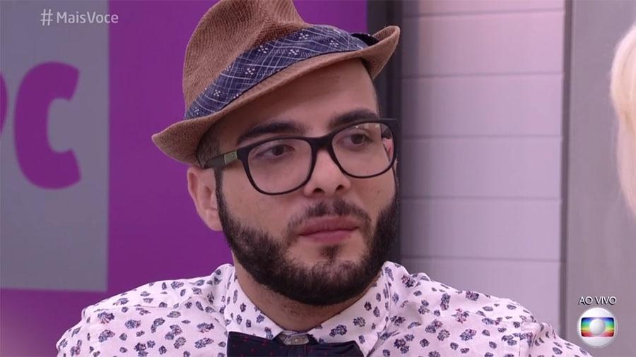 """Mahmoud no """"Mais Você"""" - Reprodução/Globo"""