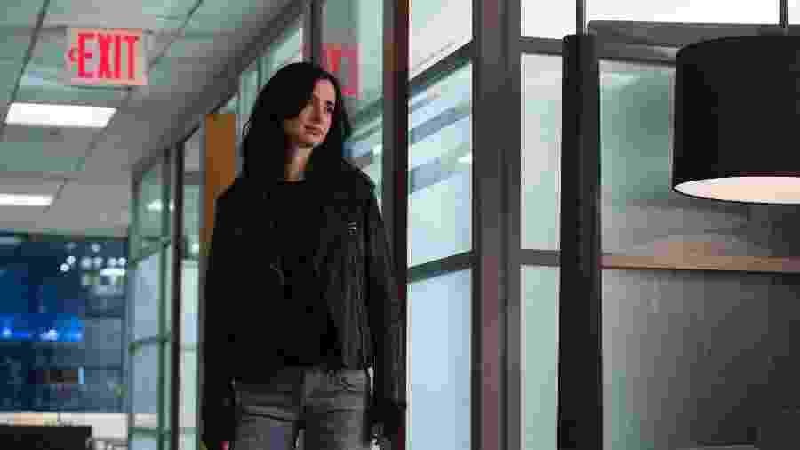 """Krysten Ritter em cena da segunda temporada de """"Jessica Jones"""", da Netflix - David Giesbrecht/Netflix"""