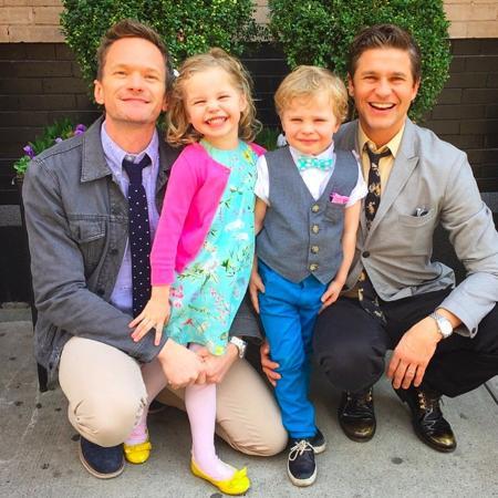 Neil Patrick Harris e sua família - Instagram