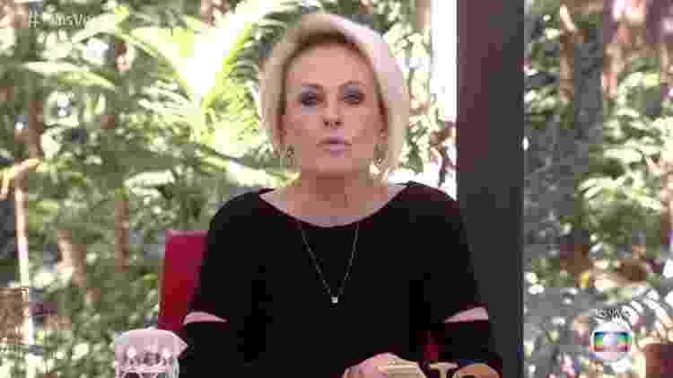 """Ex-Record, Ana Maria Braga foi vetada pela Globo no """"Programa do Porchat"""" - Reprodução/TV Globo - Reprodução/TV Globo"""