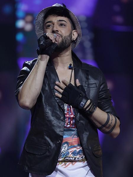 """Gabriel Camillo está na final do """"Canta Comigo"""" - Antonio Chahestian/Record TV"""