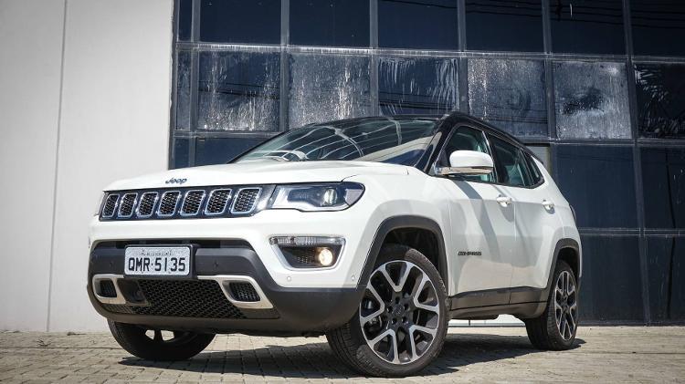 Jeep Compass foi alugado por R$ 8.000 (imagem ilustrativa) - Redação