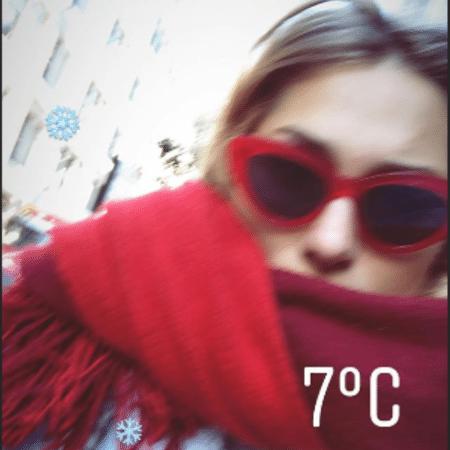 Sasha Meneghel reclama do frio que faz em Nova York - Reprodução/Instagram