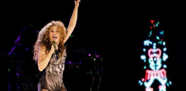 Shakira faz show no estádio Allianz Parque, em São Paulo