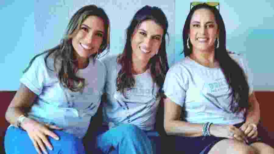 Patrícia, Rebeca e Silvia Abravanel. filhas de Silvio Santos e apresentadoras do SBT - Reprodução/Instagram