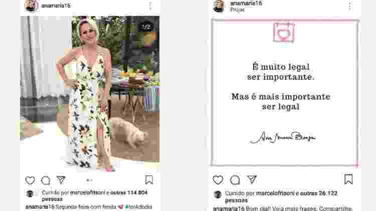 """Marcelo também curtiu uma foto de """"look do dia"""" em abril de 2018 e um pensamento postado por ela em dezembro - Reprodução/Instagram - Reprodução/Instagram"""