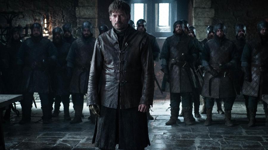"""Jaime Lannister (Nikolaj Coster-Waldau) em cena do último episódio de """"Game of Thrones"""" - Divulgação/HBO"""