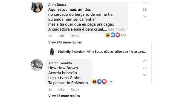 Maninho Brown E Baby Drama Filtro Do Bebê Vira Zoeira Com