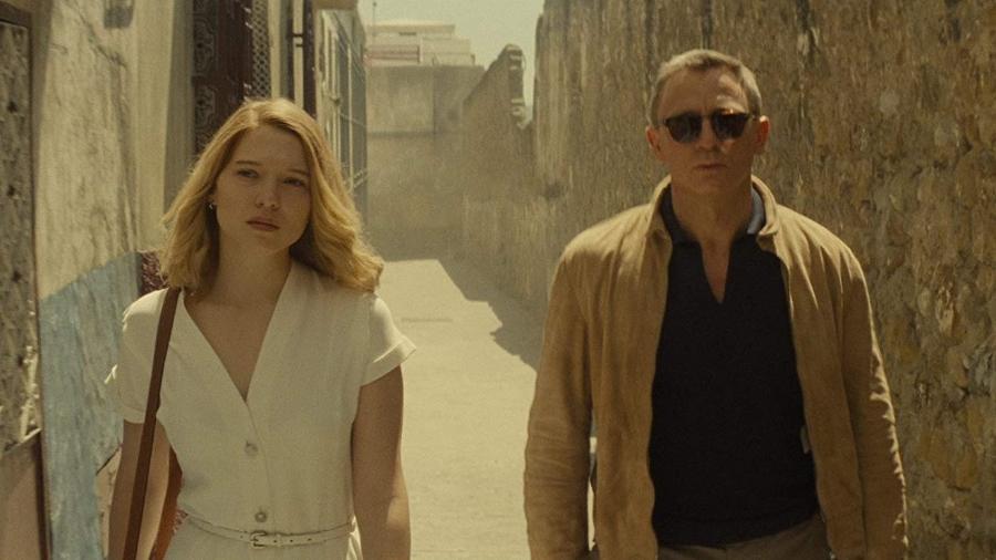 """Léa Seydoux com Daniel Craig em cena de """"007 Contra Spectre"""" - Divulgação/IMDb"""