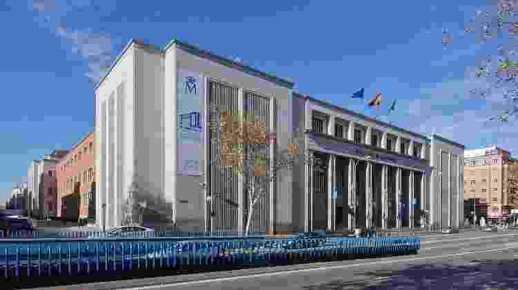 Fachada da Casa da Moeda da Espanha, em Madri - Carlos Delgado/WikiCommons