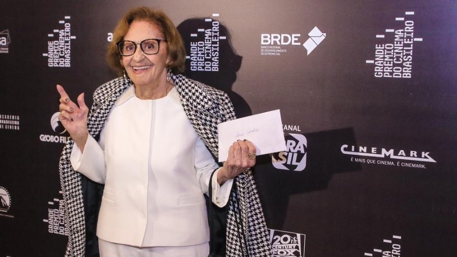 Laura Cardoso no tapete vermelho do Grande Prêmio do Cinema Brasileiro 2019 - Thiago Duran/AgNews