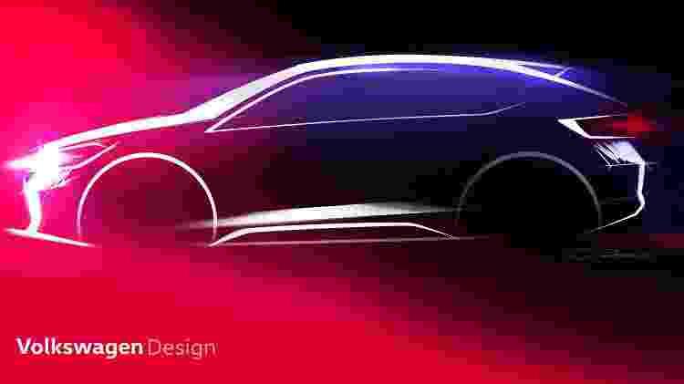 Desenho do SUV cupê da Volkswagen foi concebido pelo brasileiro José Carlos Pavone e agradou alemães - Divulgação