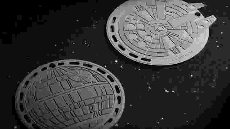 9.out.2019 - Descanso de panelas da Le Creuset inspirado em Star Wars - Divulgação - Divulgação