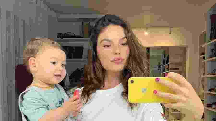 Isis Valverde com Rael, de 11 meses - Reprodução/Instagram