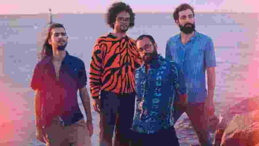 A banda paraibana Glue Trip - Divulgação