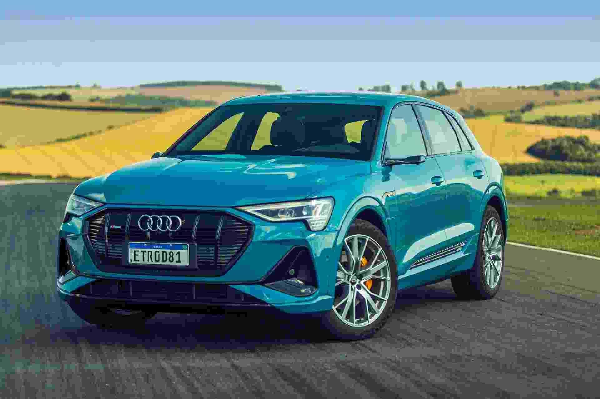 Audi e-tron - Divulgação/Audi