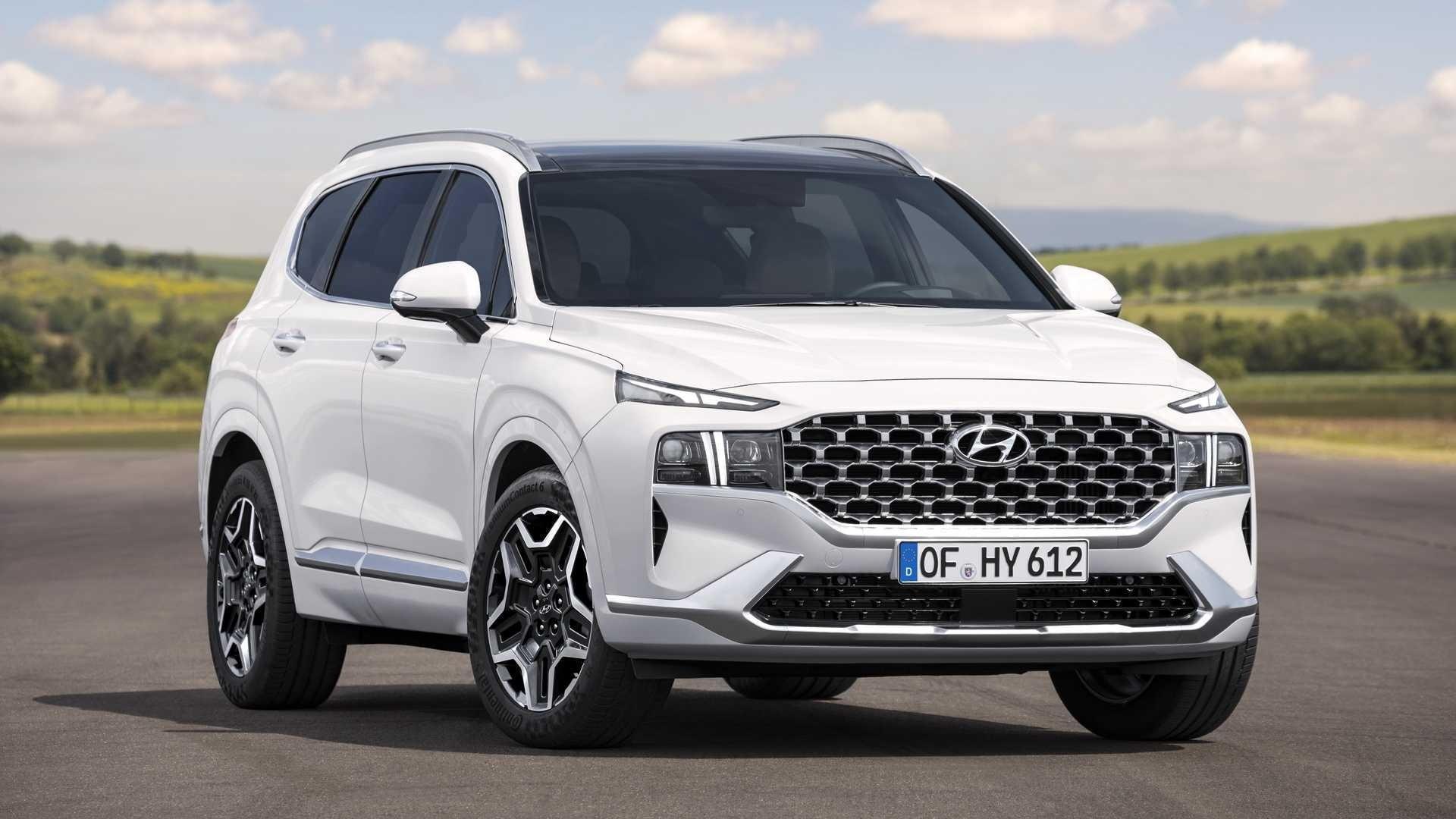 Hyundai Santa Fe 2021 E Apresentado Veja Como Ficou