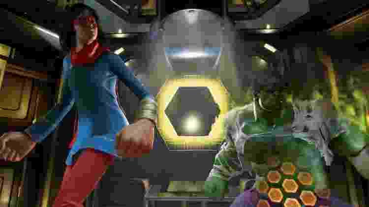 game Vingadores Kamala e Hulk - Reprodução/Bruno Izidro - Reprodução/Bruno Izidro