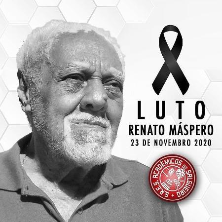 Renato Máspero, compositor do Salgueiro - Reprodução/Instagram