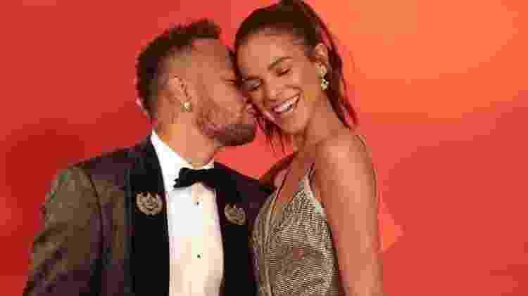 Neymar e Bruna Marquezine - Reprodução - Reprodução