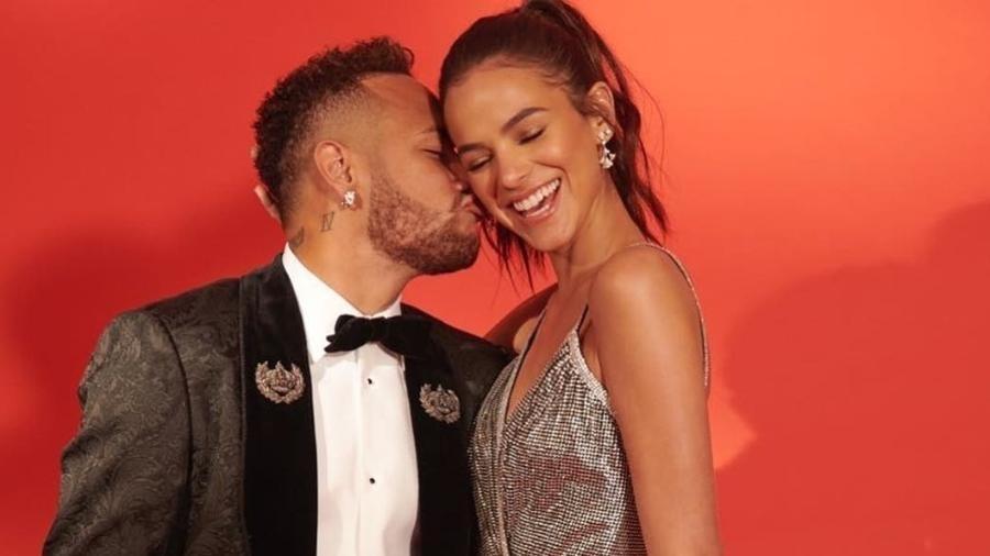 Neymar e Bruna Marquezine: fãs torcem pela volta do casal - Reprodução