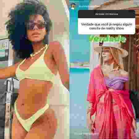 Brunna Gonçalves revelou que já negou convite para um reality - Reprodução/Instagram