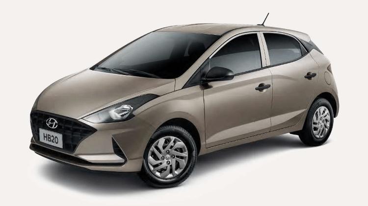 Hyundai HB20 Sense 2021 - Divulgação - Divulgação