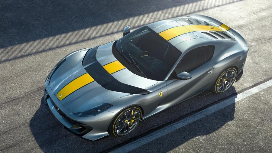 Teaser Ferrari 812 Superfast em nova versão - Divulgação