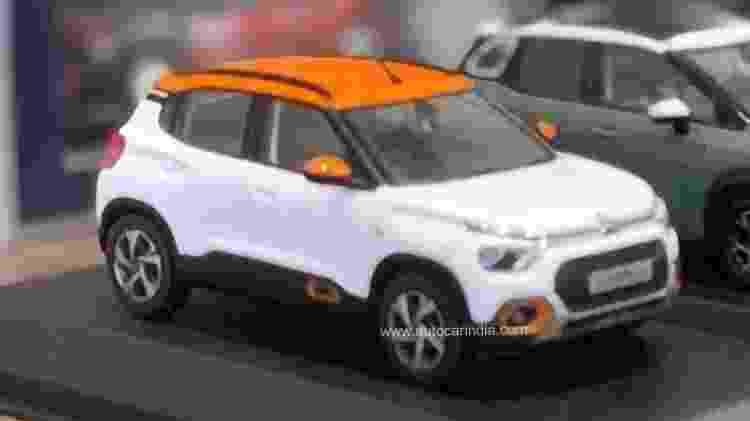 Miniatura do novo Citroën C3 - Divulgação - Divulgação