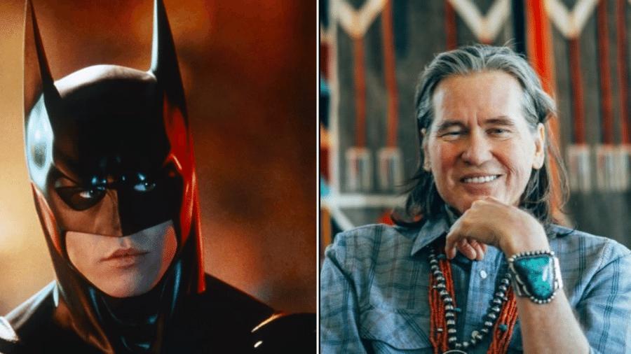 """Val Kimer deu vida ao Batman em """"Batman Forever"""" (1995) - Reprodução"""
