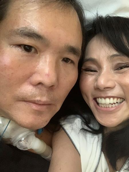 Fundador das redes China in Box e Gendai, Robinson Shiba sofreu acidente de moto em 2019 e teve traumatismo crânioencefálico - Arquivo pessoal