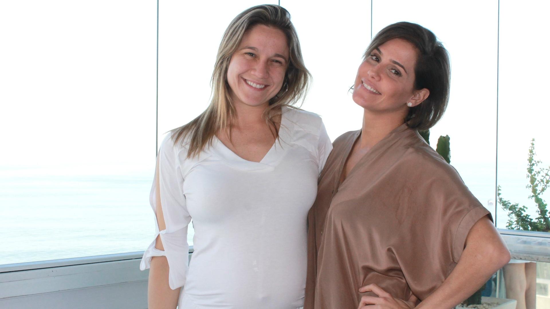 Fernanda Gentil entrevista Deborah Secco para o quadro