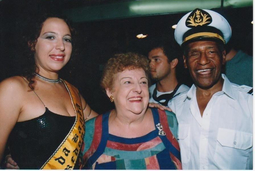 Silmara Deon, Etty Fraser e Carlão