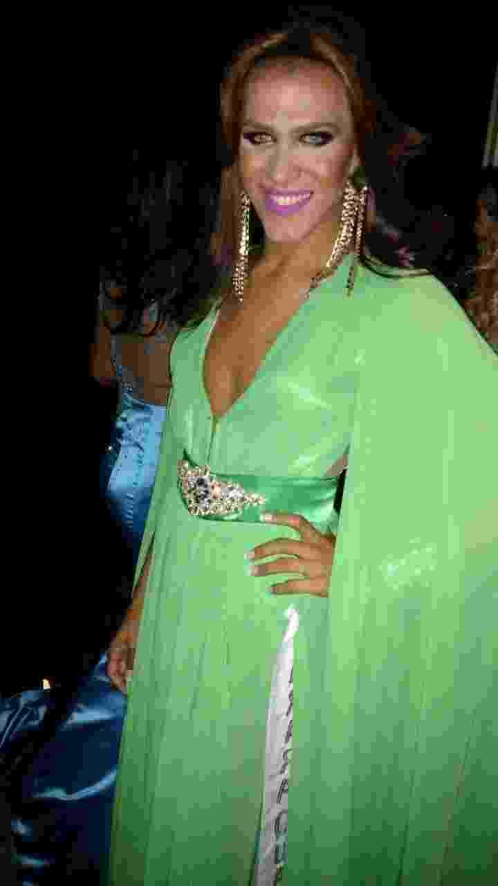 12.jul.2016 - 27ª edição do Miss Gay São Paulo Gay, que aconteceu na noite desta terça-feira - Felipe Abílio /UOL